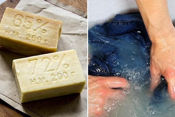 Стирка джинсов хозяйственным мылом