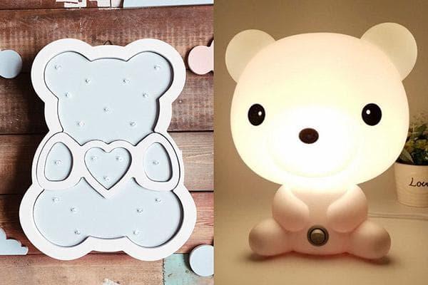Лампа-медведь