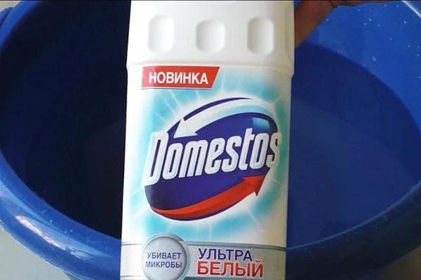 «Доместос» и синий тазик