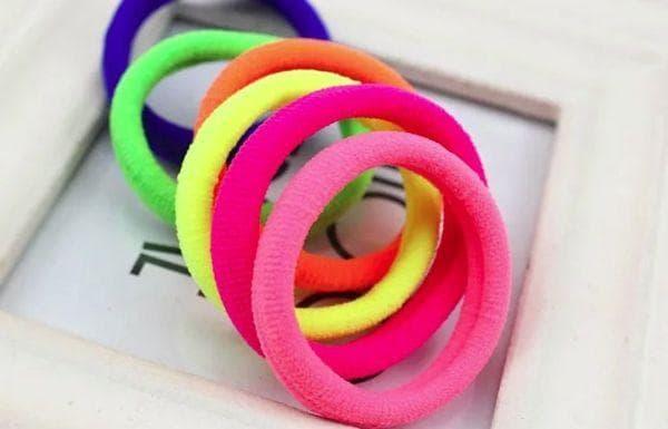 Разноцветные резинки