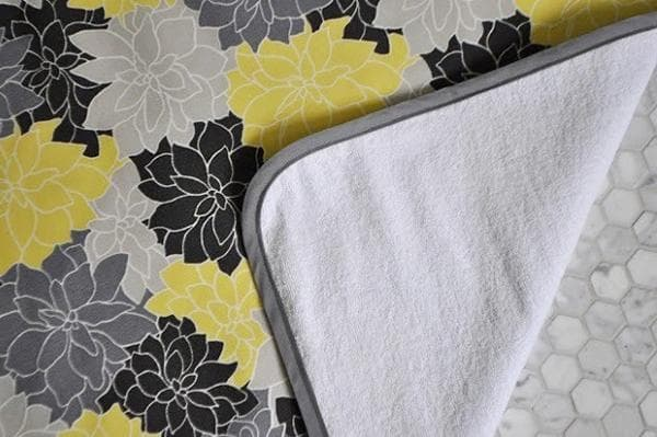Двухслойный коврик для ванной