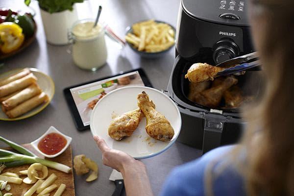 Приготовление куриных голеней в мультипечи