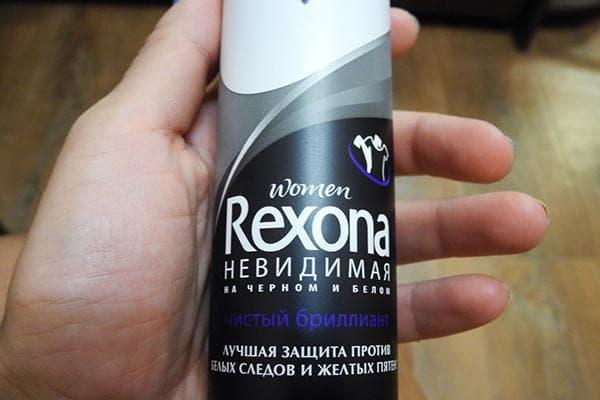 """Дезодорант """"Рексона невидимая защита"""""""
