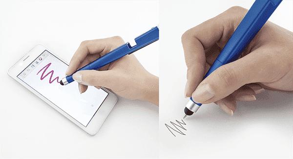 Ручка-стилус с фонариком из ФиксПрайса