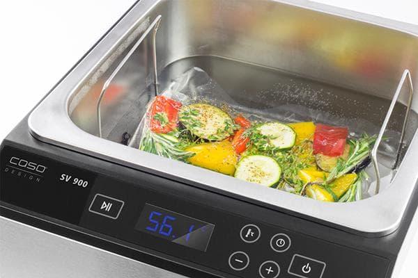 Приготовление овощей в су виде