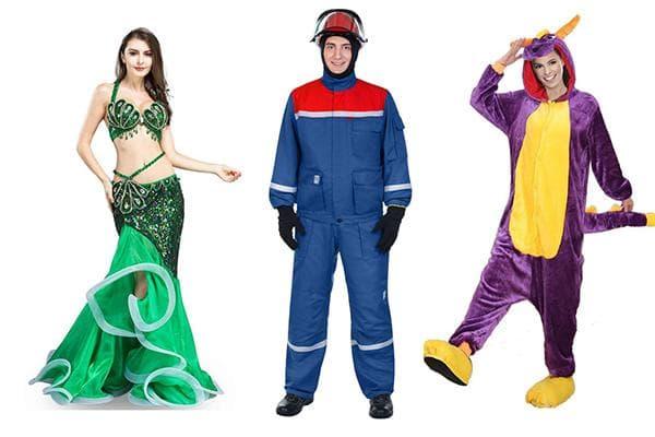 Люди в синтетической одежде