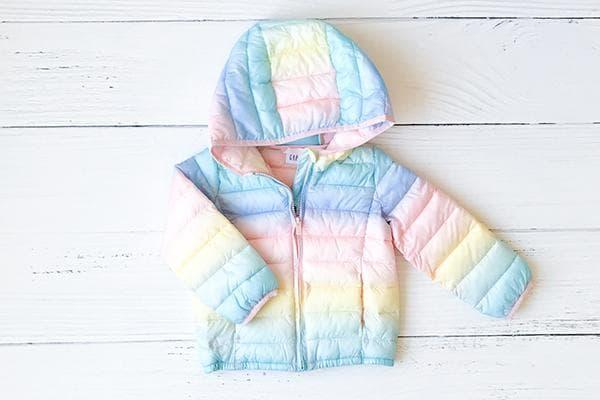 Утепленная детская куртка