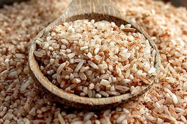 Коричневый (бурый, нешлифованный) рис
