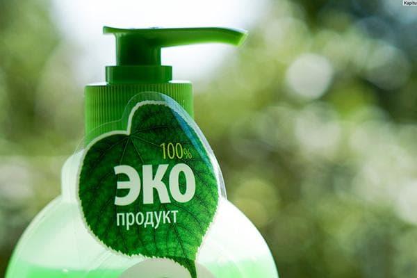 """Чистящее средство с пометкой """"ЭКО"""""""