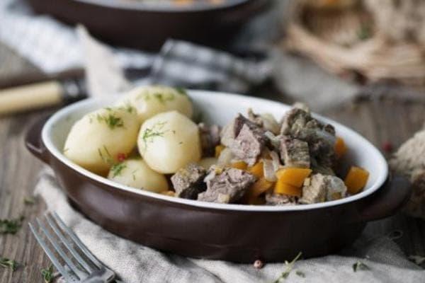 Жаркое с картофелем