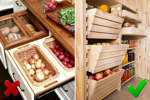 Хранение корнеплодов в квартире