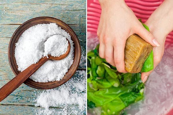Соль для выведения пятен от свеклы