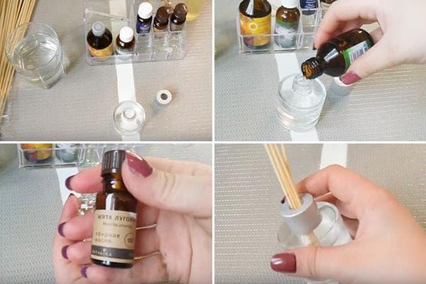 Изготовление аромадиффузора для дома своими руками