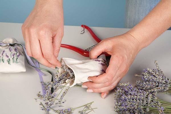 Изготовление ароматического саше с лавандой
