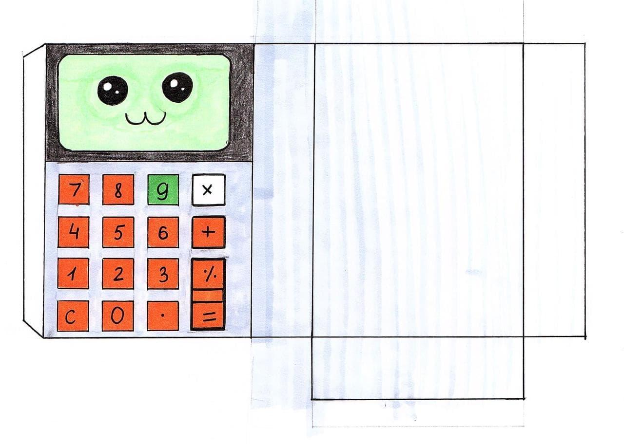 Шаблон для сквиши - калькулятор