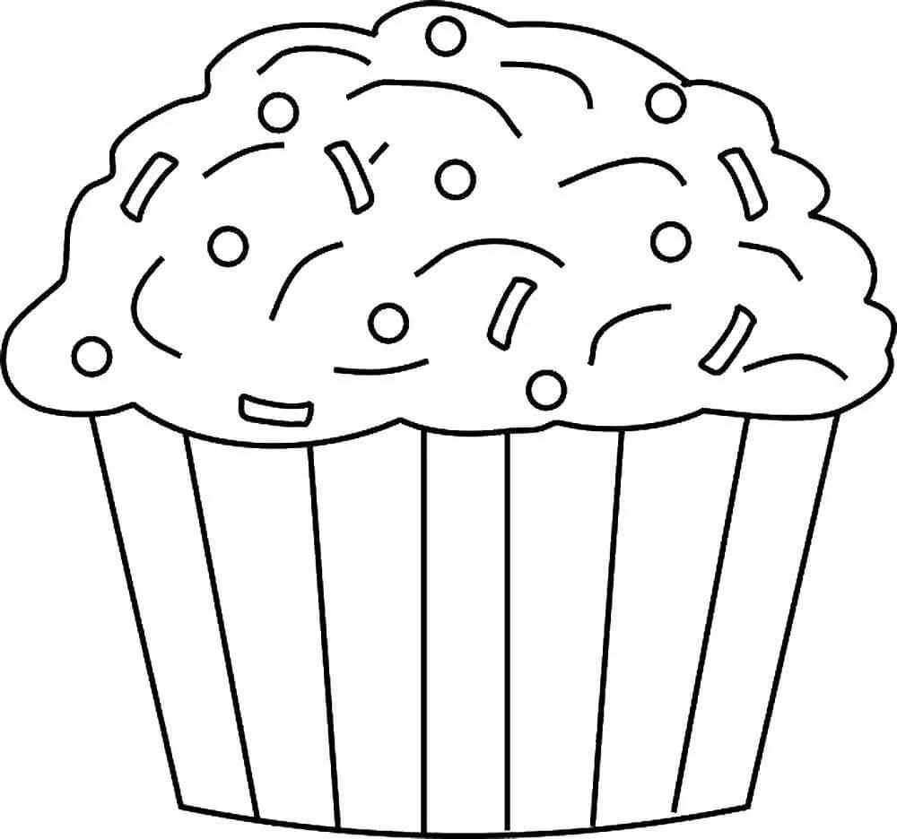 Шаблон для сквиши - кекс