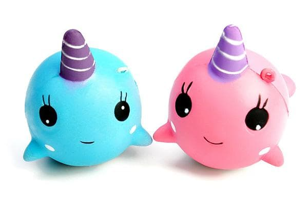 Две игрушки сквиши