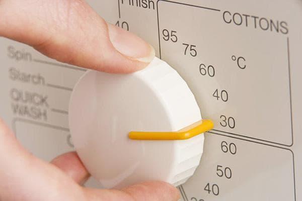 Температура стирки 30 градусов