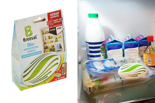 Поглотитель запахов для холодильника Breesal БИО