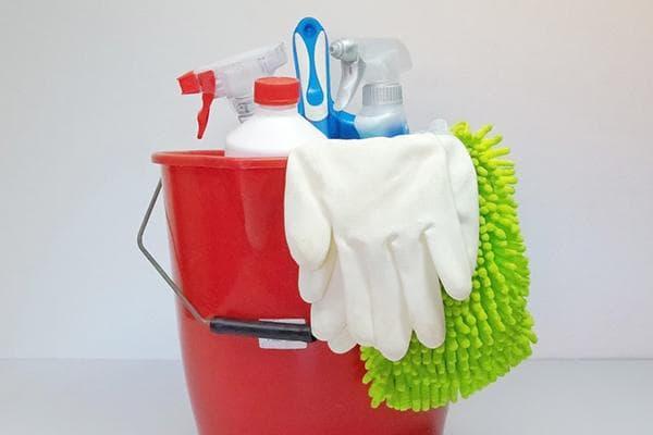 Средства и инвентарь для уборки и дезинфекции