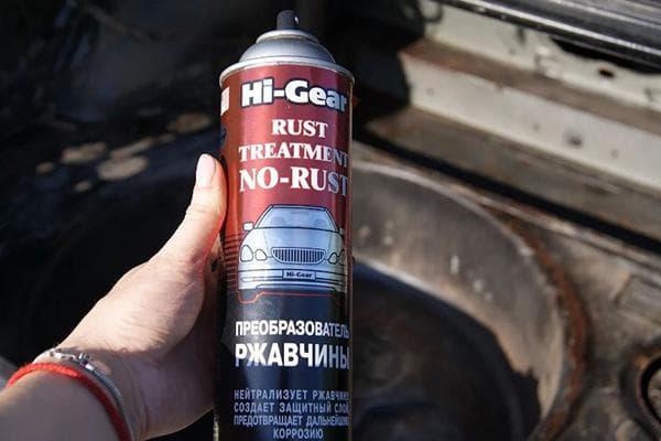 Rust Treatment No-Rust - спрей от ржавчины