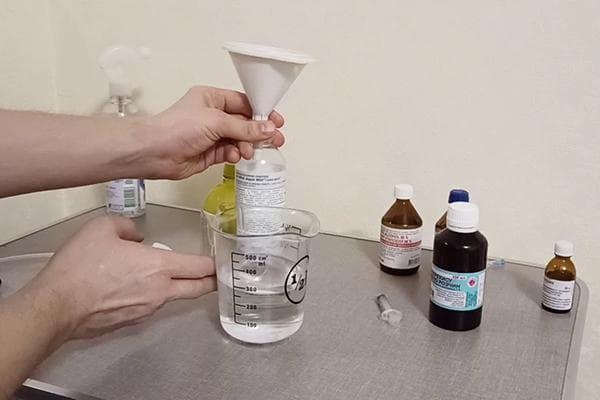 Изготовление антисептика из подручных средств