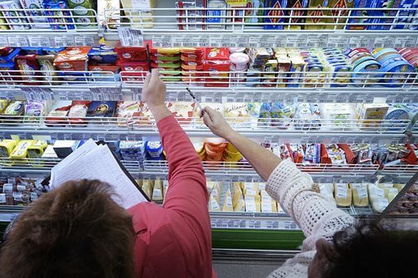 Проверка продуктов в супермаркете