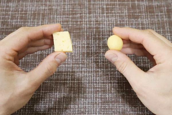 Проверка сыра скатыванием