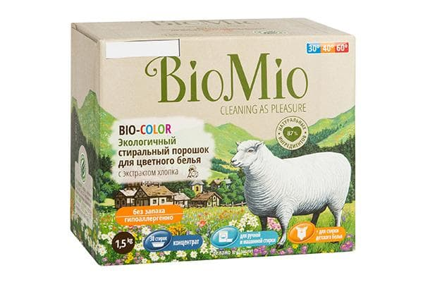 Стиральный порошок BioMio BIO-COLOR