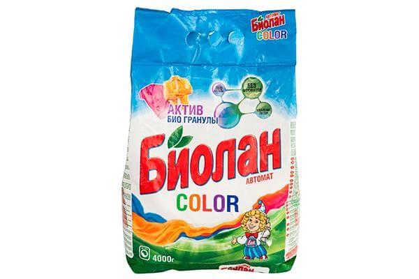 Стиральный порошок «Биолан Color»