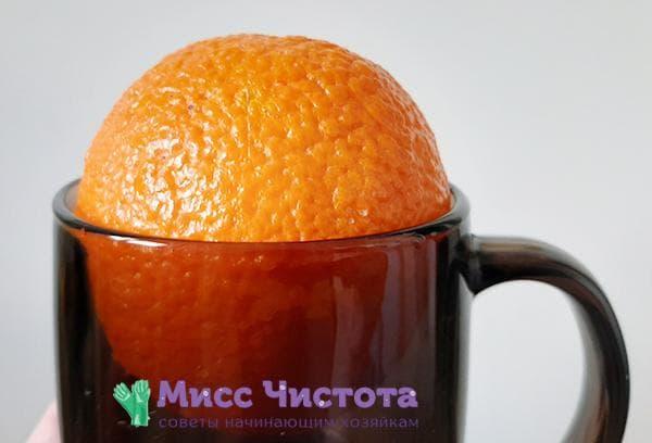 Апельсин в кружке