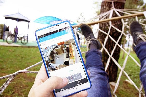 Видеонаблюдение через смартфон