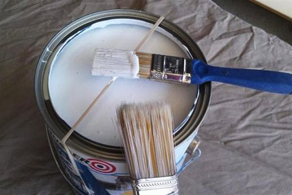 Резинка для снятия излишков краски с кисти