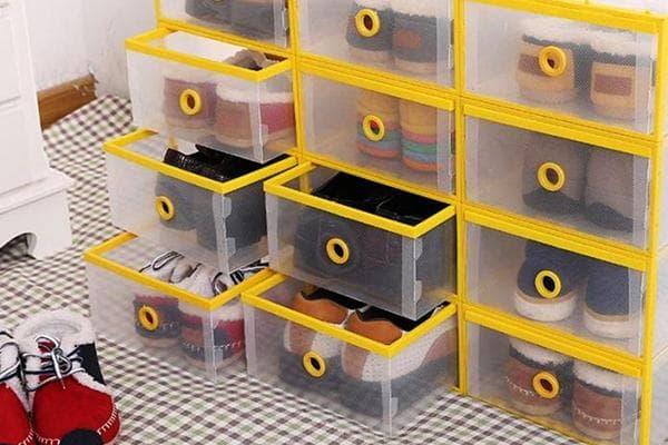 Пластиковая система хранения обуви