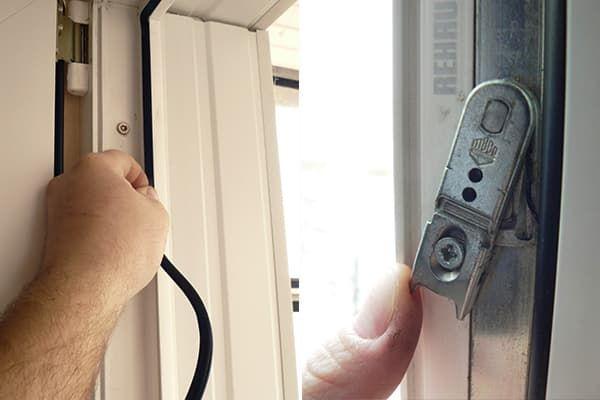 Уплотнитель и фурнитура пластикового окна