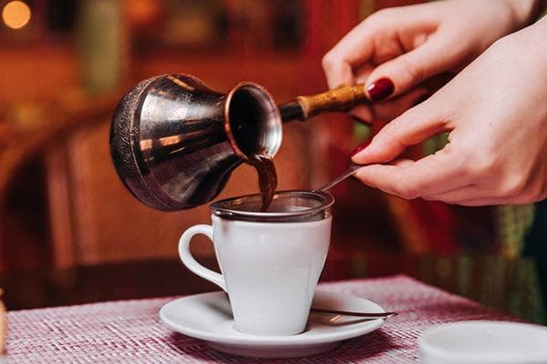 Кофе, приготовленный в турке