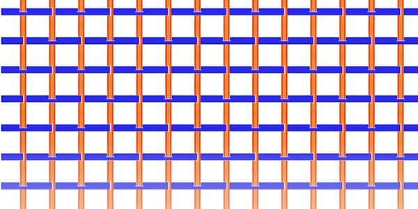 Схема плетения пластиковой корзины