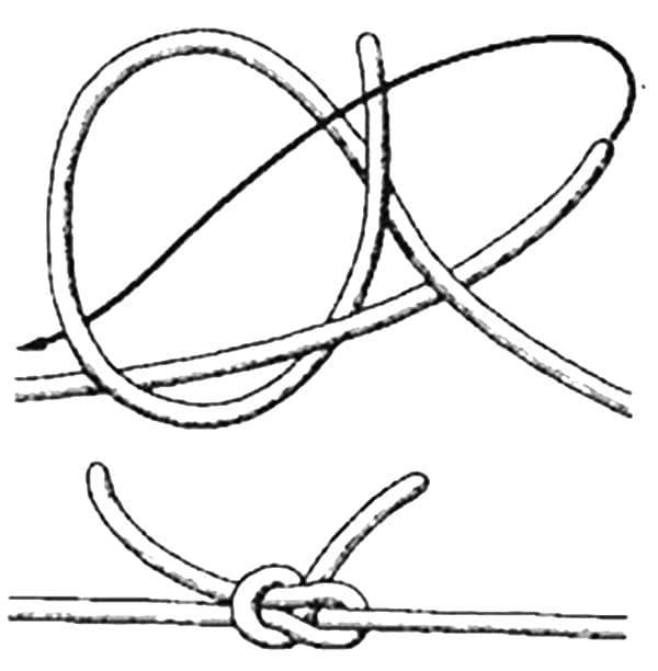 Схема ткацкого узла