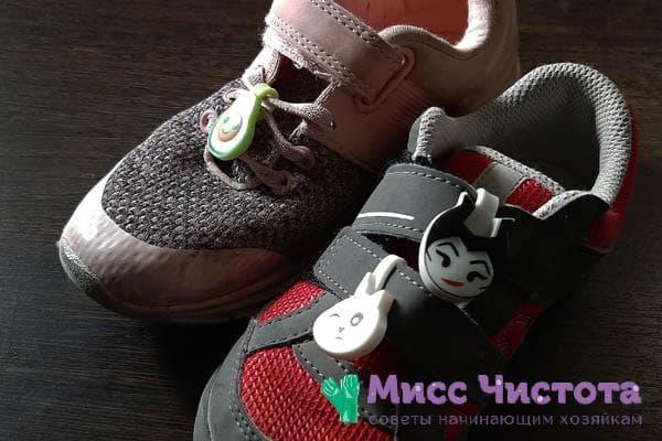 Скрепыши на обуви