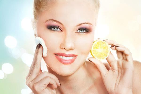 Лосьон для лица из лимонного сока