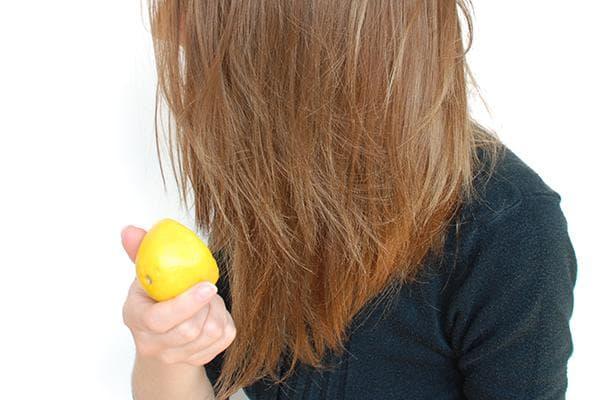 Лимон в уходе за волосами