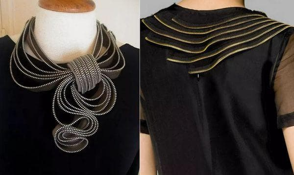 Декор скучного платья