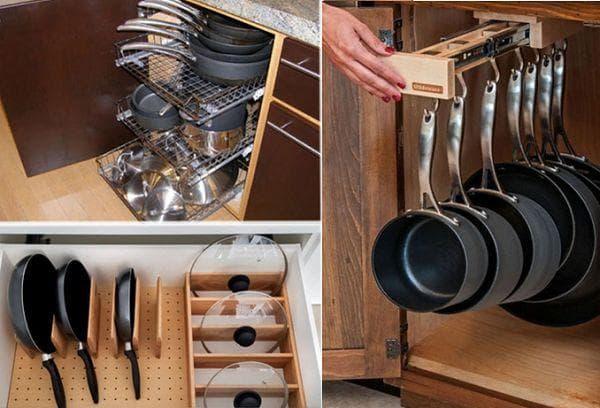 Подставки для кастрюль и сковородок