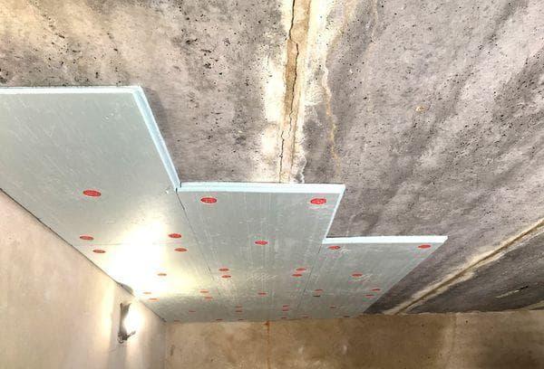 Утепление потолка пенопластом в гараже