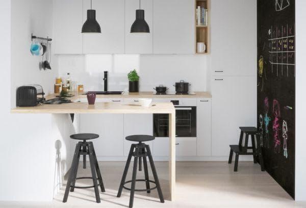 Икея кухня в скандинавском стиле