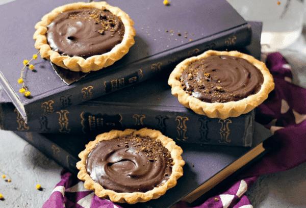 Тарталетки творожно-шоколадные