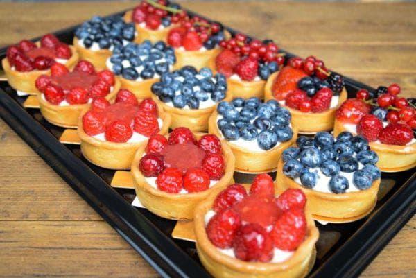 Тарталетки ягодные
