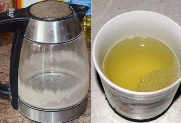 Чайник с накипью