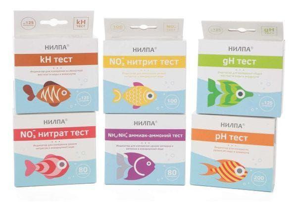 Тесты «Нилпа» для аквариума