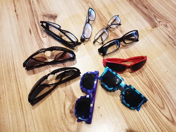 Солнечные очки и очки для зрения